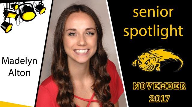 senior spotlight Nov 2017